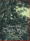 Thirty Songs, Franz Liszt, 0486231976