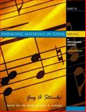 Harmonic Materials in Tonal Music 9780130331977