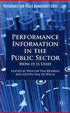 Performance Information in the Public Sector : How It Is Used, Van de Walle, Steven, 0230551971