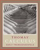 Thomas' Calculus Early Transcendentals (Single Variable, Chs. 1-11) Paperback Version, Thomas, George B. and Weir, Maurice D., 0321441982