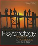 Concept Charts for Weiten's Psychology : Themes and Variations, Weiten, Wayne, 0495601985