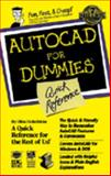 QR/Autocad for Dummies, Finkelstein, Ellen and Smith, Bud E., 1568841981