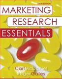 Marketing Research Essentials with SPSS, McDaniel, Carl and Gates, Roger, 0470131985