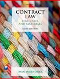 Contract Law : Text, Cases, and Materials, McKendrick, Ewan, 0198701985