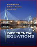 Differential Equations, Blanchard, Paul and Devaney, Robert L., 0495561983