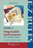 E-Z Rules for Negotiable Instruments and Bank Deposits, Ezon, 0735571996