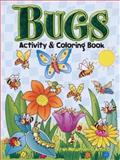 Bugs Activity and Coloring Book, Fran Newman-D'Amico, 0486461998