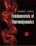 Fundamentals of Thermodynamics, Borgnakke, Claus and Sonntag, Richard E., 1118131991