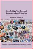 Cambridge Yearbook of European Legal Studies 2010-2011, , 1849461996