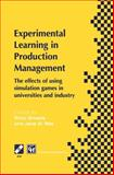 Experimental Learning in Production Management : IFIP TC5 / WG5. 7 Third Workshop on Games in Production Management: the Effects of Games on Developing Production Management 27-29 June 1997, Espoo, Finland, , 1475751990