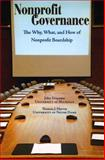 Nonprofit Governance : The Why, What, and How of Nonprofit Boardship, Tropman, John E. and Harvey, Thomas J., 1589661990