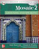 Mosaic 2 Listening/Speaking Student Book w/ Audio Highlights CD : Silver Edition, Hanreddy, Jami and Whalley, Elizabeth, 0073332003