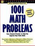 1001 Math Problems, LearningExpress Staff, 1576852008