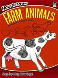 How to Draw Farm Animals, Barbara Soloff Levy, 0486472000