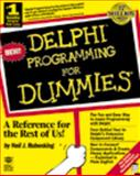 Delphi Programming for Dummies, Rubenking, Neil J., 1568842007