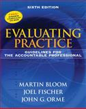 Evaluating Practice : Guidelines for the Accountable Professional, Bloom, Martin J. and Fischer, Joel, 0205612016