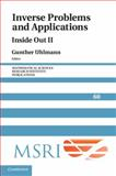 Inverse Problems and Applications : Inside Out II, , 1107032016