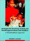 Strategies for Teaching At-Risk and Handicapped Infants and Toddlers 9780675212021