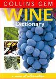 Wine Dictionary, David Rowe, 0004722027