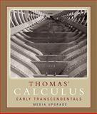 Thomas' Calculus, Early Transcendentals, Media Upgrade Value Pack (includes MyMathLab/MyStatLab Student Access Kit and Addison-Wesley's Calculus Review, Part Two), Weir and Thomas, George B., 0321522028