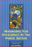 Managing for Excellence in the Public Sector, Van der Waldt, G. and Du Toit, D. F. P., 0702152021
