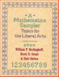 A Mathematics Sampler 5th Edition