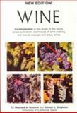 Wine - An Introduction, Amerine, Maynard A. and Singleton, Vernon L., 0520032020