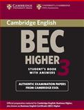 Cambridge BEC Higher 3, Cambridge ESOL Staff, 0521672031