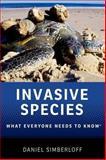 Invasive Species, Daniel Simberloff, 0199922039
