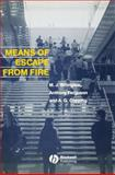 Means of Escape from Fire, Billington, M. J. and Ferguson, Anthony, 0632032030
