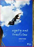 Equity and Trusts Directions, Watt, Gary, 0199572038