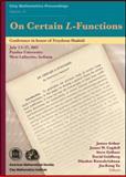 On Certain L-Functions, Freydoon Shahidi and James Arthur, 0821852043