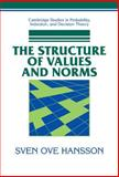 The Structure of Values and Norms, Hansson, Sven Ove, 0521792045