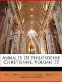 Annales de Philosophie Chrétienne, Augustin Bonnetty and Charles Denis, 1145472044
