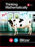 Thinking Mathematically, Blitzer, Robert, 0131752049