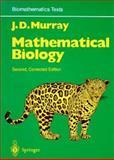 Mathematical Biology, Murray, J. D., 038757204X