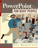 PowerPoint for Windows 95 for Busy People, Ron Mansfield, 0078822041