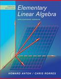 Elementary Linear Algebra, Anton, Howard and Rorres, Chris, 0470432055