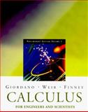 Engineering Calculus in 2 Semesters, Giordano, Frank, 0201442051