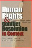 Human Rights and Conflict Resolution in Context, , 0815632053