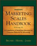 Marketing Scales Vol. IV : Consumer Behavior, James, Karen E. and Bruner, Gordon C., 1587992051