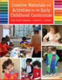 Creative Materials and Activities for the Early Childhood Curriculum, Isenberg, Joan R. and Durham, Jenn, 0133862054