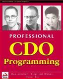 CDO Programming, Wrox Development Staff, 1861002068