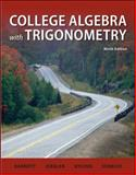 Combo: College Algebra with Trigonometry with Student Solutions Manual, Barnett, Raymond and Ziegler, Michael, 007794206X