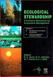 Ecological Stewardship : A Common Reference for Ecosystem Management, Johnson, David W. and Sexton, 0080432069