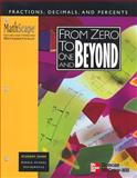 MathScape : Seeing and Thinking Mathematically, Grade 6, from Zero to One and Beyond, Creative Publications Staff and McGraw-Hill Staff, 0762202076