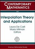 Interpolation Theory and Applications, Cwikel, M., 0821842072