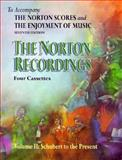 The Norton Recordings to Accompany the Norton Scores and the Enjoyment of Music 9780393992076