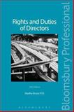 Rights and Duties of Directors, Martha Bruce, 1780432070
