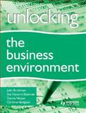 Understanding the Business Environment, Brinkman, John and Navarro, Ilve, 034094207X